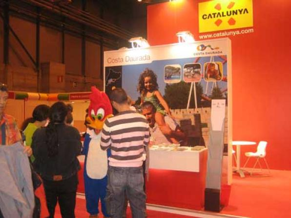 The Tourist Board of Salou participates in the Hall Babies and Moms.