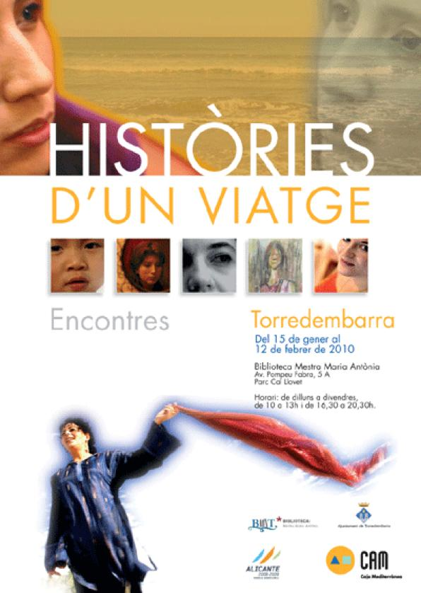 The CAM and the City of Torredembarra present the exhibition 'Històries d'un viatge'
