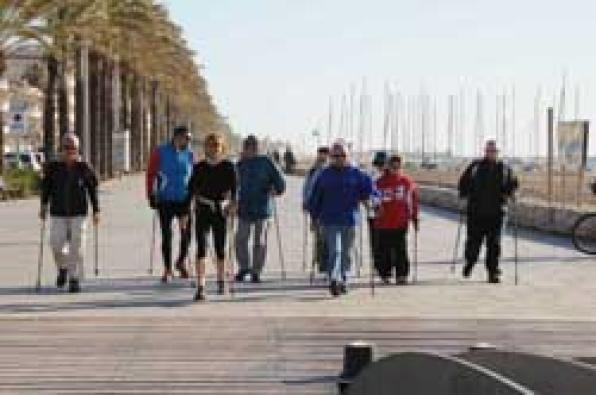Calafell opens the third season of Tourism Actiu, again focused on Nordic walking