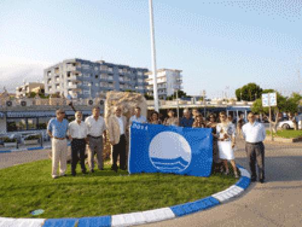 Blue Flag for the Nautical Club of Hospitalet-Vandellòs