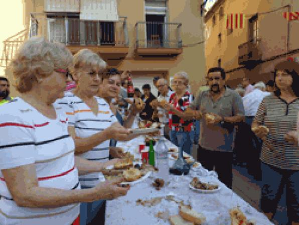 Clotxada popular a la Fiesta Mayor de Vandellòs