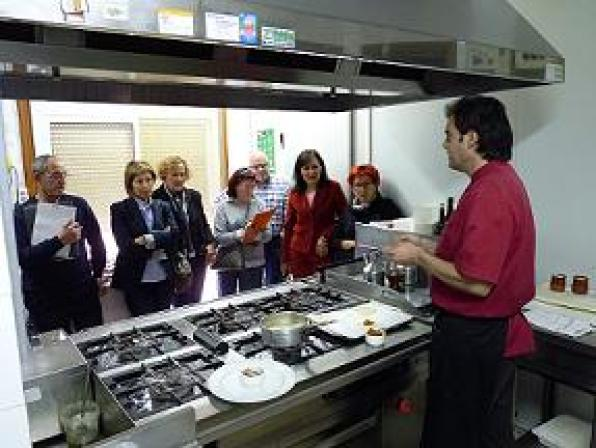 The cooking classes in the XIII Conference of the tuna are of great interest