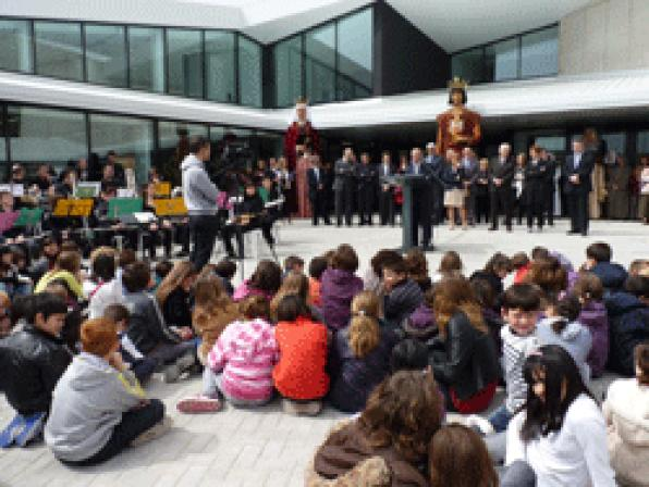 LŽHospitalet celebrates the opening of Cultural Center Infante Pere