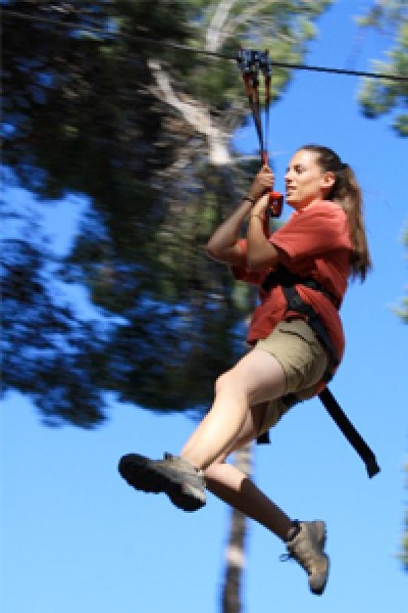 Join the weekly draw for two tickets to go to Bosc Aventura Salou