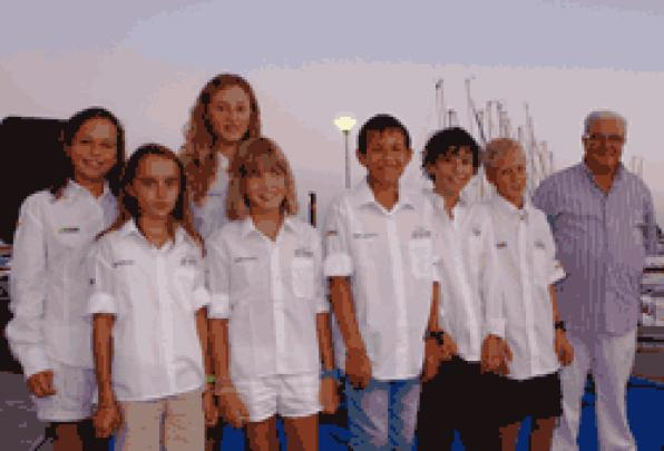 The Yacht Club Salou presents its sailing teams