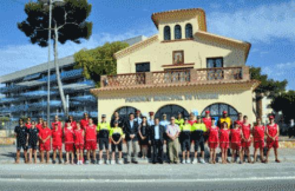Torredembarra introduces new police officers to local beaches