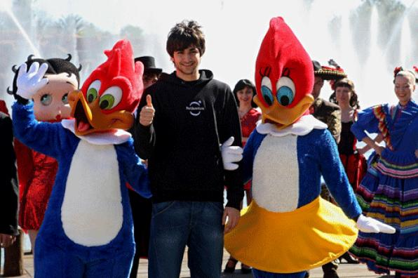 Ricky Rubio opened the new season of PortAventura
