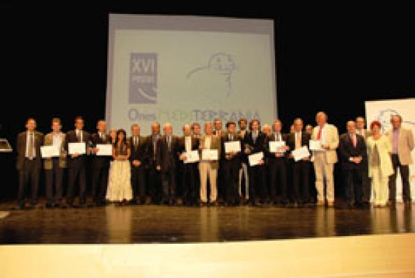 The City of Salou, rewared in the XVI Awards Ones Mediterrània