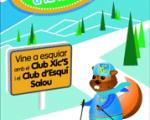 The Club Xic's proposes skiing for children