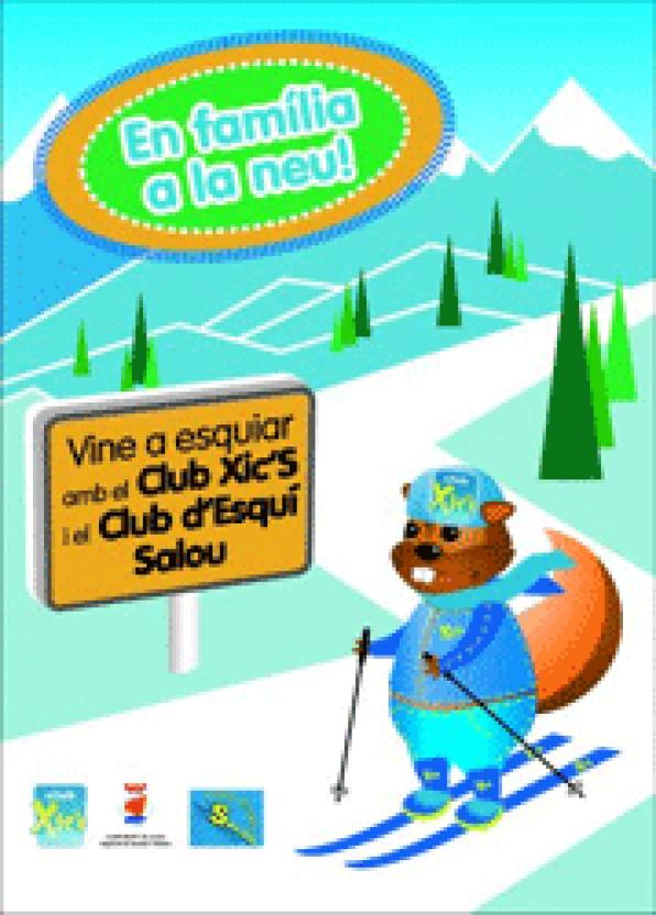 The Club XicŽs  proposes skiing for children