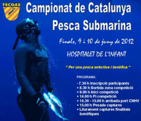 Underwater Fishing Championship of Catalonia this weekened