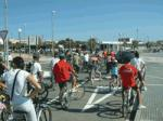 Vandellòs Hospitalet de l'Infant pedals and walks for cleaner air