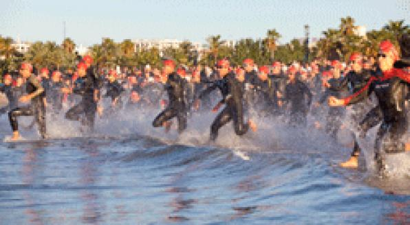 The Extreme Man 226 Salou, Costa Dorada seduces foreign athletes