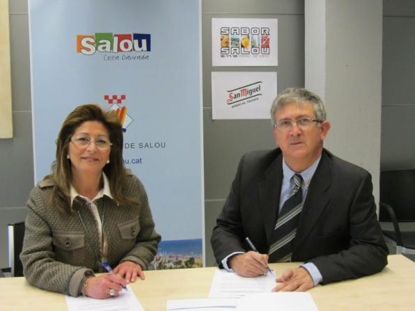San Miguel again sponsor SaborSalou gastronomic fair to be held from 16 to 18 March