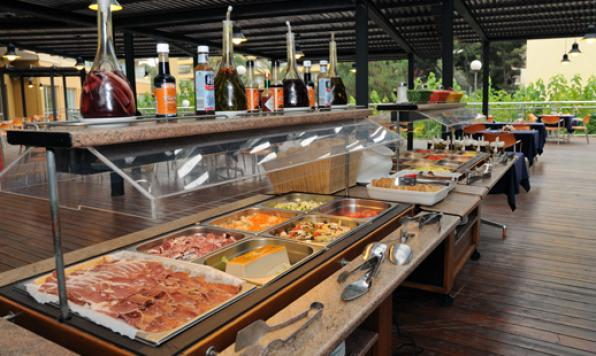Restaurant Buffete AlFresco, Hotel Calypso Salou.