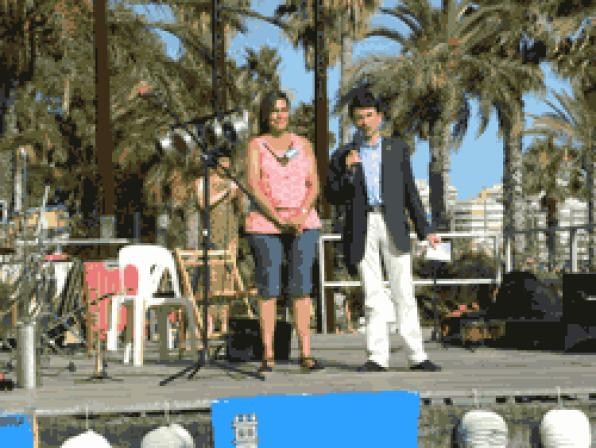 Great audience at the Festival of Folklore Andaluz 2011 Salou