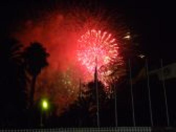 Salou dismisses Nits Daurades 2012 with a spectacular castle of fire