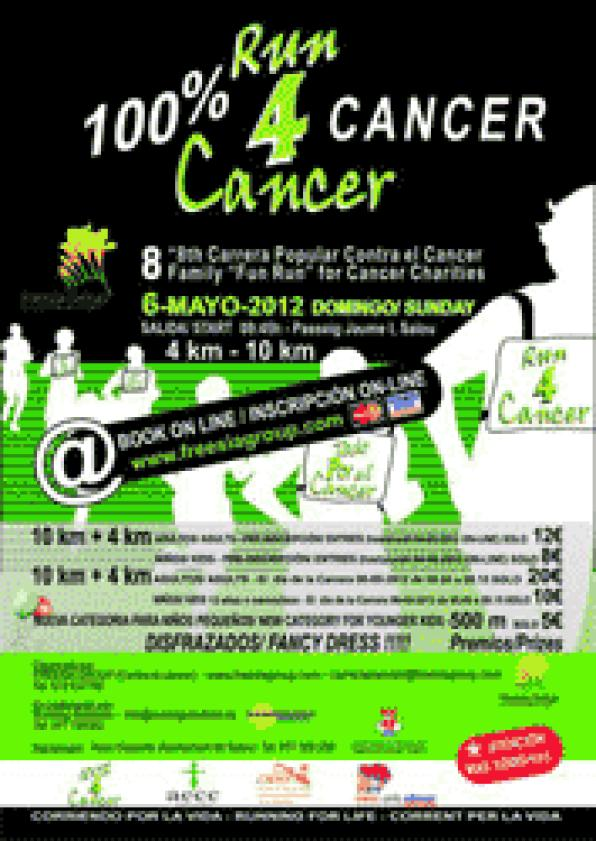 Salou is looking fo runners to fight cancer for charity