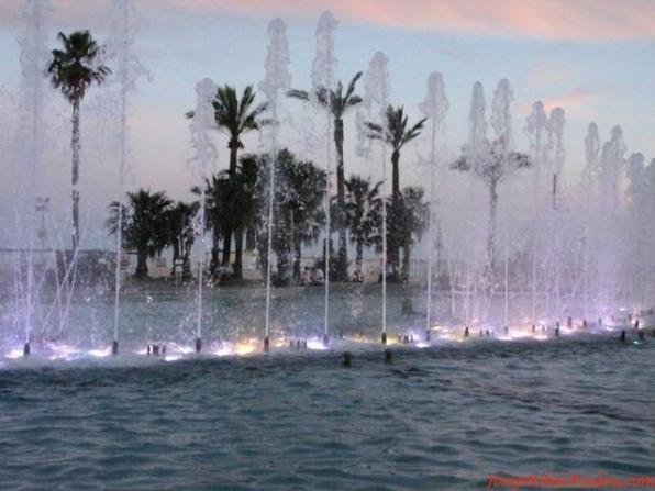 Ornamental fountains Salou