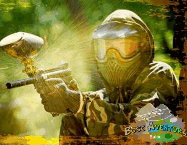 Bosc Aventura, paintball a Salou.