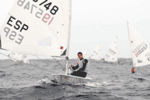 Ignacio Lopez, Salou's Boat, won the Laser Radial class
