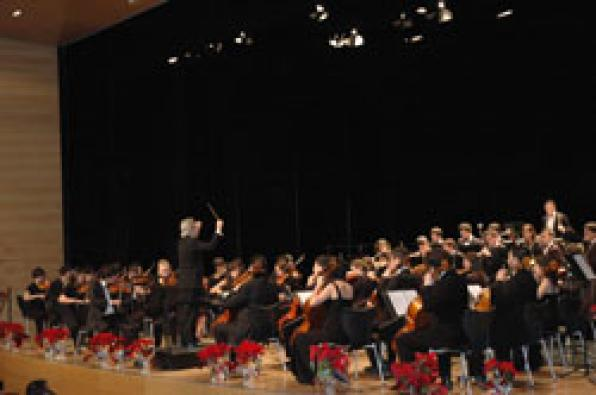 Salou is home one more Christmas of the National Youth Orchestra of Catalonia