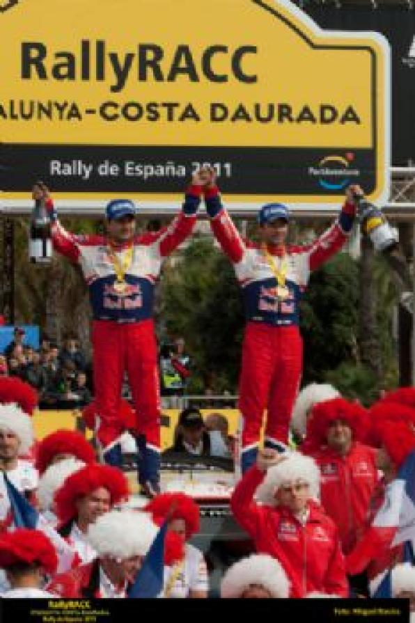Sébastien Loeb and Citroen team winning 47 RallyRACC Catalonia, Costa Dorada (Rank)