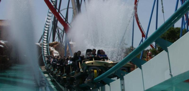 Shambhala takes off, the new star attraction at PortAventura