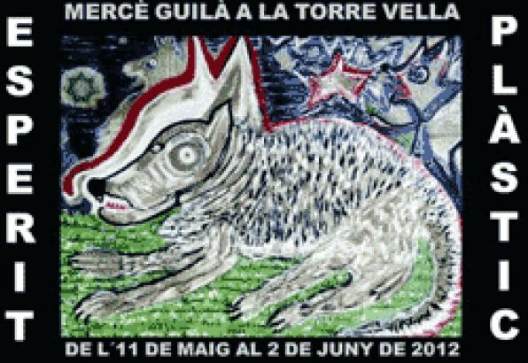 Mercedes Gila's paintings exhibited at the art center of the Torre Vella