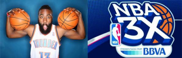 The player of the NBA James Harden will lead the show of the NBA 3X Tour Salou