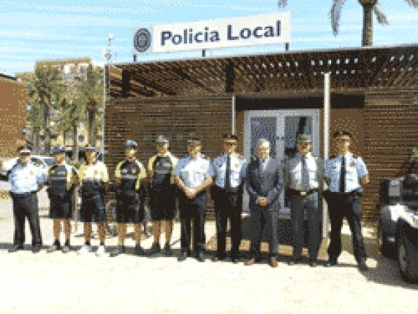 Salou beach police station opens in coordination with the Autonomous Police