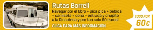 Celebrate the best party this summer with Routes Borrell, an unforgettable experience