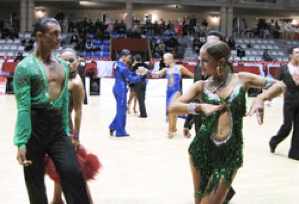 Salou, the capital of dance sport from 3 to December 8 with 2,000 couples registered