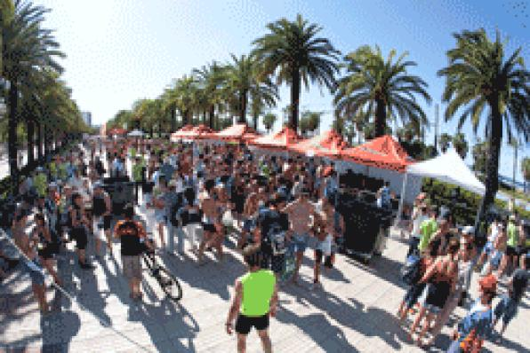 "The Mayor of Salou: ""The Man Extreme 226 will help promote sports tourism in Salou"""