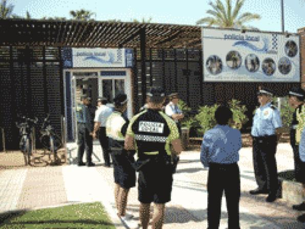Salou brings the local police service to the beaches in Salou