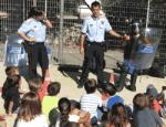 Police Salou and Catalan police explain their work to children of the Casal XicŽs 2