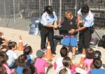 Police Salou and Catalan police explain their work to children of the Casal XicŽs