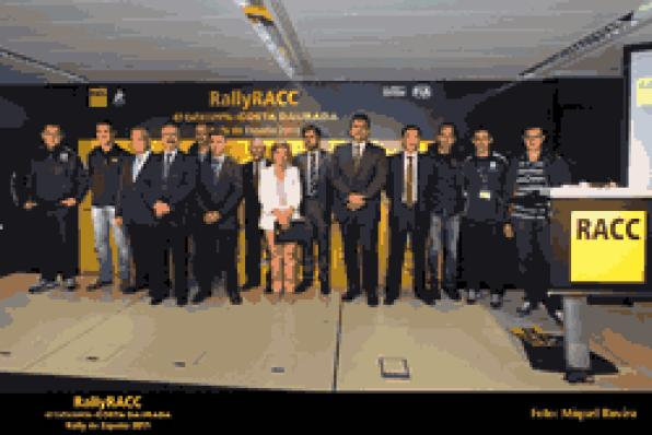 Everything ready for Rally RACC 2011