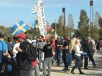 Thousands of people live the qualification test for the RallyRACC in Salou