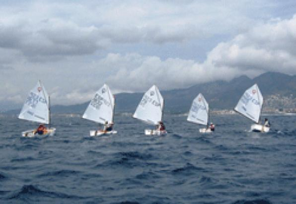 The Optimist Trophy Festival of Salou is a charity race