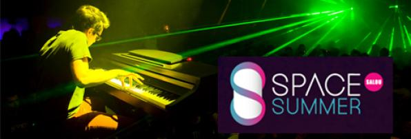 The electronic piano Deparamo act this Saturday at the Summer Space Salou 1