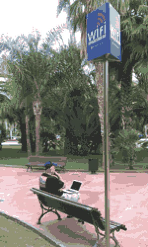 The City of Salou launches 9 new wireless zones