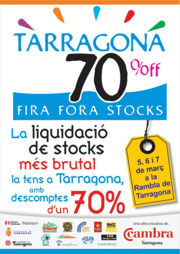 Tarragona, Salou and Vila-seca sell products in stock this weekend